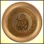 Merry Old Santa Claus Collector Plate by Thomas Nast
