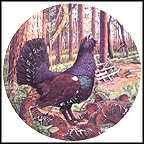 Capercaillie Collector Plate by Derek Braithwaite