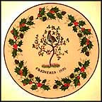 Partridge In A Pear Tree Collector Plate by H. Colclough