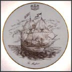 The Mayflower Collector Plate by H. Colclough