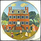 Davenport House, Savannah, Georgia Collector Plate by Robert Franke