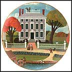 Moffatt-Ladd House, Portsmouth, New Hampshire Collector Plate by Robert Franke