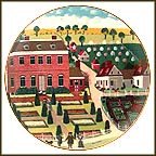 Pennsbury Manor Collector Plate by Robert Franke