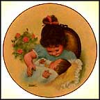 Joy In The Morning Collector Plate by Lorraine Trester