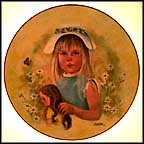 Sing A Song Of Spring Collector Plate by Lorraine Trester