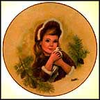 Sweet Long Ago Collector Plate by Lorraine Trester