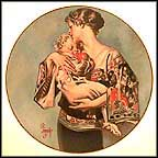 Tenderness Collector Plate by J. C. Leyendecker