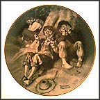 Trying A Pipe Collector Plate by Norman Rockwell MAIN