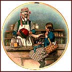 The Shop Owner Collector Plate by Norman Rockwell