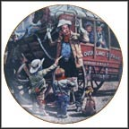 The Desperadoes Collector Plate by Don Crook