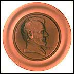 Abraham Lincoln Collector Plate by Roger Brown