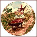 Harvest Time Collector Plate by Michael Hague