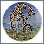 A Kiss For Mother - artist signed Collector Plate by Yin-Rei Hicks