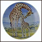 A Kiss For Mother Collector Plate by Yin-Rei Hicks