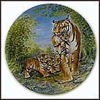 A Loving Guidance Collector Plate by Yin-Rei Hicks
