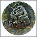 A Protective Embrace Collector Plate by Yin-Rei Hicks