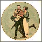 Their First Mother's Day Collector Plate by Norman Rockwell