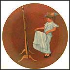 Almost Grown Up Collector Plate by Norman Rockwell