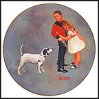 Courageous Hero Collector Plate by Norman Rockwell