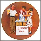 Little Salesman Collector Plate by Norman Rockwell