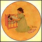 Little Mother Collector Plate by Norman Rockwell