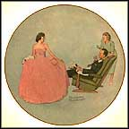 Sweet Sixteen Collector Plate by Norman Rockwell