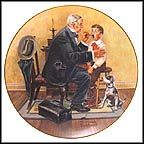 The Country Doctor Collector Plate by Norman Rockwell