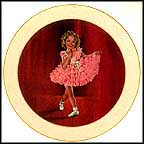Baby Take A Bow Collector Plate by William Jacobson