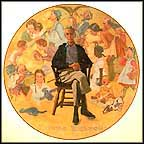 Rockwell Remembered Collector Plate by Norman Rockwell