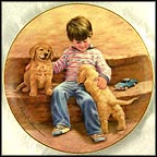 Best Buddies Collector Plate by Abbie Williams MAIN