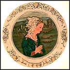 Adoration Collector Plate by Fra Filippo Lippi MAIN