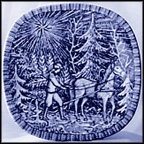 Bringing Home The Tree Collector Plate by Gunnar Nyland