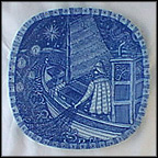 Fisherman Sailing Home Collector Plate by Gunnar Nyland