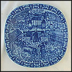 Orebro Castle Collector Plate by Gunnar Nyland MAIN