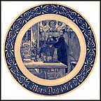 Candle Lighting Collector Plate by Carl Larsson