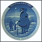 Three Wise Men Collector Plate by Heinrich Vogeler MAIN
