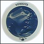 Christmas In The Mountains Collector Plate by Professor Theo Schmuz-Baudiss