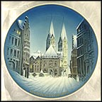 Christmas In Bremen Collector Plate by Georg Küspert