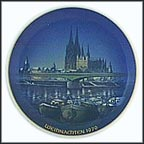Christmas In Cologne Collector Plate by Georg Küspert