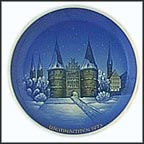 Christmas In Lub-Holst Collector Plate by Georg Küspert