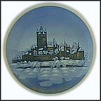 The Castle Cochem Collector Plate by Helmut Drexler MAIN