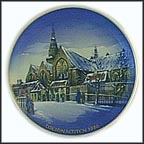 Christmas In Amsterdam Collector Plate by Helmut Drexler MAIN