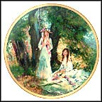 Springtime Collector Plate by Maxine Runci MAIN