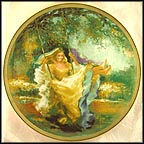 Summertime Collector Plate by Maxine Runci MAIN