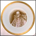Pope Paul VI Collector Plate by Charles Carolyne MAIN