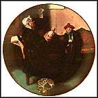 The Doctor And The Doll Collector Plate by Norman Rockwell