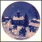 Christmas Fair At Ebeltoft Collector Plate