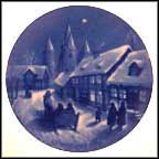 Midnight Mass At Kafundbor Collector Plate