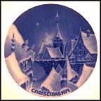 Christmas Night In A Village Collector Plate