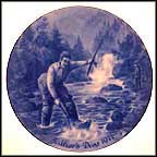 Fishing Collector Plate